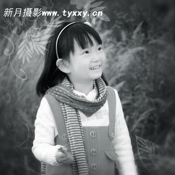 太原新月儿童摄影——秋天的童话